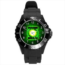 Green Lantern Super Hero #J01 Plastic Sport Watch