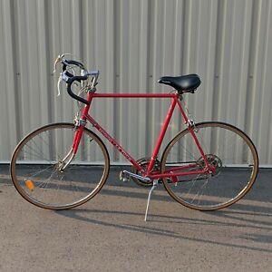 "Schwinn Bicycle Vintage Le Tour Road Bike Touring 10 Speed Large 25"" Frame Red"