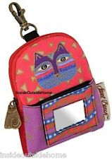 Laurel Burch Cat Pink Purple ID Wristlet Case Bag Cell Phone iPod D Almost Gone
