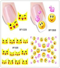1PC Nail Art Stickers Nail Decals French Manicure Water Transfer Stickers