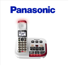 Panasonic KX-TGM420W Amplified Cordless Phone with Digital Answering Machine - 1