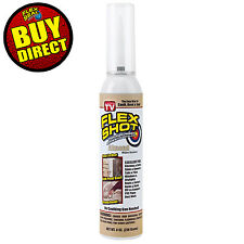 Flex Shot Almond 8-oz. Thick Rubber Adhesive Sealant Caulk Bond Seal Buy Direct!
