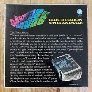 Eric Burdon & The Animals - Winds Of Change - Original 1967 UK Mono