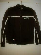 Genuine Ducati Womens Size L  Zip Fleece Cotton  Top Jacket BARGAIN !
