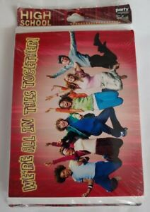 High School Musical Disney invitation with envelopes New Free Shipping