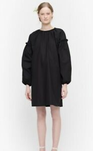 Marimekko Lansi Black Dress With. Size M. BNWT.