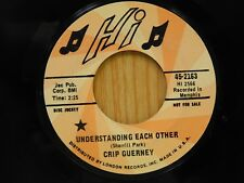Crip Guerney DJ 45 Understanding Each Other bw Messing With The Man - Hi VG