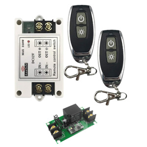 High Power 40A 350W Wireless Remote Control Light Switch Input Output Receiver