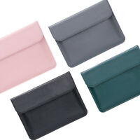 Laptop Bag PU Leather Sleeve Case Cover For MacBook Air Pro Retina 11 12 13 15
