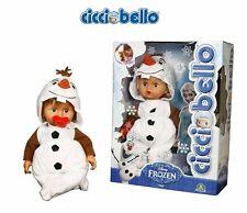 Cicciobello Frozen Olaf pupazzodi neve bambolotto giochi preziosi nuovo