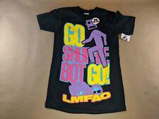 LMFAO Shuffle Bot T-Shirt Black Size Extra Small NEW