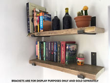 Reclaimed Old Rustic Wood Scaffold Timber Board Shelves Industrial Shelf
