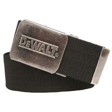 DeWalt Canvas Work Belt Black Nickle Clap with Logo One Size DWC14