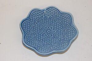 Portuguese Handmade Ceramic Small Plate Tray Home Decor Decorative Ornament