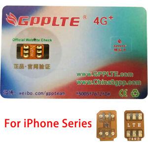 iPhone Unlock Sim Turbo Card for iPhone SE/XS/X/8/8 Plus/7/7 Plus/6s