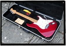 Fender Strat USA Plus Deluxe. Fender 50th Anniversary. Rare Crimson Burst Model