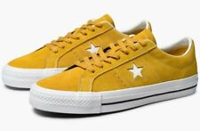Converse Cons One Star Pro Ox Unisex Mineral Yellow Men's Size 9 Women's Size 11