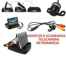"Monitor 4.3"" kit Telecamera Retromarcia Auto Retrocamera Camper telecamera /kt-3"