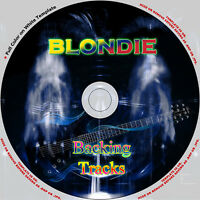 BLONDIE GUITAR BACKING TRACKS CD BEST GREATEST HITS MUSIC PLAY ALONG ROCK