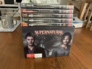 NEW Supernatural DVDs Season 1 to 14