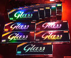 10 / 5 / 3 / 1 St. GLASS King Size Clear Rolling Paper, 100% BIO !! TOP PREIS !!