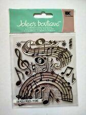 Jolee's Boutique 3D Stickers note de musique chanson