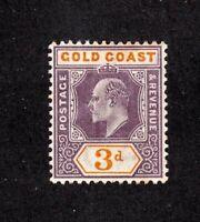 Gold Coast stamp #42, MLHOG, 1902
