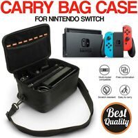 Travel Bag Case Cover Carrying Handle with Shoulder Strap For Nintendo Switch UK