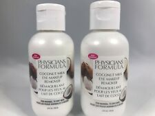 Physicians Formula Coconut Milk Eye Makeup Remover Lotion Lot Of 2