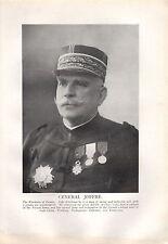 1918 WW1 WORLD WAR I PRINT ~ GENERAL JOFFRE