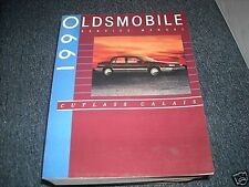 1990 OLDSMOBILE CUTLASS CALAIS FACTORY OEM SHOP MANUAL