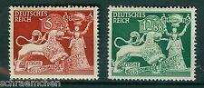 Deutsches Reich 816 - 817 , ** , * , o , Bfst  - Goldschmiedekunst