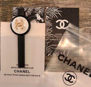 Chanel Perlmutt Haarspange Haarschmuck Accessoires Hair Clip Slide jewellery