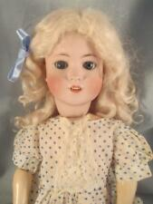 Antique German Bisque Doll Simon & Halbig #550 Jointed Comp Body 22""