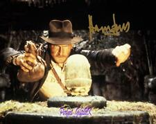 Harrison Ford Indiana Jones SIGNED AUTOGRAPHED 10X8 REPRO PHOTO PRINT