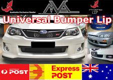 RHINO LIP Bumper Spoiler Splitter for Subaru WRX GC8 GD GG GE GH GR GV GP GJ