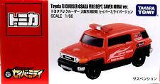 Tomy Tomica Toyota FJ Cruiser Osaka Fire Dept. Saver Miral Ver. Scale 1 : 66