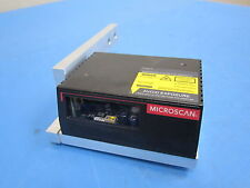 Microscan Ms-810 Fis-0810-0010 Scanner Decoder w Mount Assembly