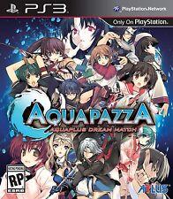 New! AquaPazza (Sony PlayStation 3, 2013) - U.S. Retail Version!