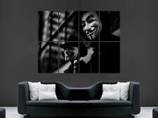 V FOR VENDETTA MOVIE FILM  ART WALL LARGE IMAGE GIANT POSTER