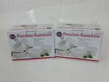 Norpro - Porcelain Ramekin, 6 Piece  Set, Pack of 2 (Total SET Of 12)