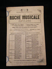 Partitura La colmena musical popular Nº127 Lindo Music Sheet