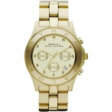 MARC JACOBS BLADE ROSE GOLD CHRONOGRAPH STEEL LADIES WATCH MBM3102