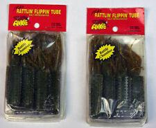 Mike's Rattlin Flippin' Tube 2 packs Pumpkin Green - New