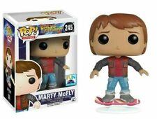 Figura Marty McFly Regreso al futuro II 245 Hoverboard Funko Pop patin volador