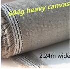 Primed Canvas Roll Artist Heavy 604 GSM Long Rain Linen 224cm Wide Oil Painting