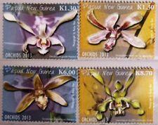 PAPUA NEW GUINEA 2013 1893-0 Block 163 Orchideen Orchids Blumen Flowers Pflanzen