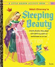Reprint - 1957 - Sleeping Beauty Little Golden Activity Book - Paper Dolls Pages