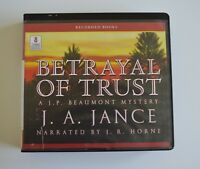 Betrayal of Trust: by J. P. Beaumont - Unabridged Audiobook - 8CD