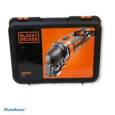 Black & Decker MT300KA-GB Oscillating Multi-Tool 300 W Black Orange
